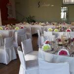 Konzerthaus Cafe mit gedeckten Tischen